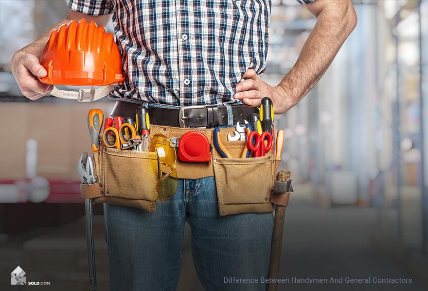 Difference Between Handymen And General Contractors