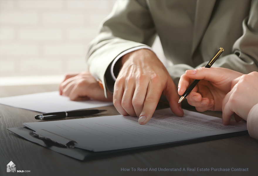 How To Read And Understand A Real Estate Purchase Contract