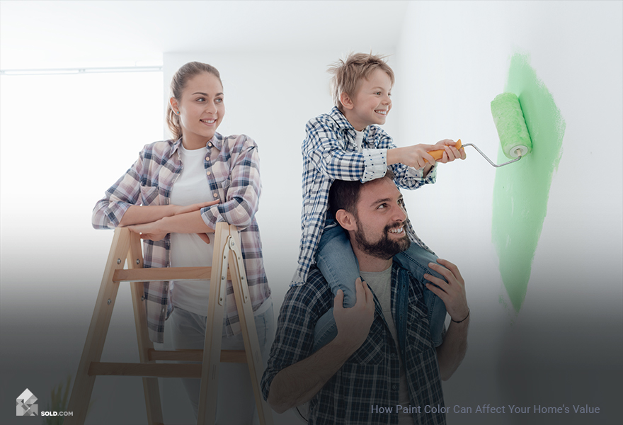 How Paint Color Can Affect Your Home's Value