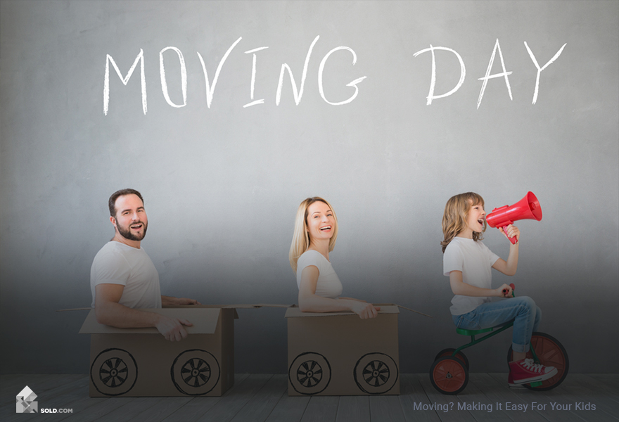 Moving? Making It Easy For Your Kids