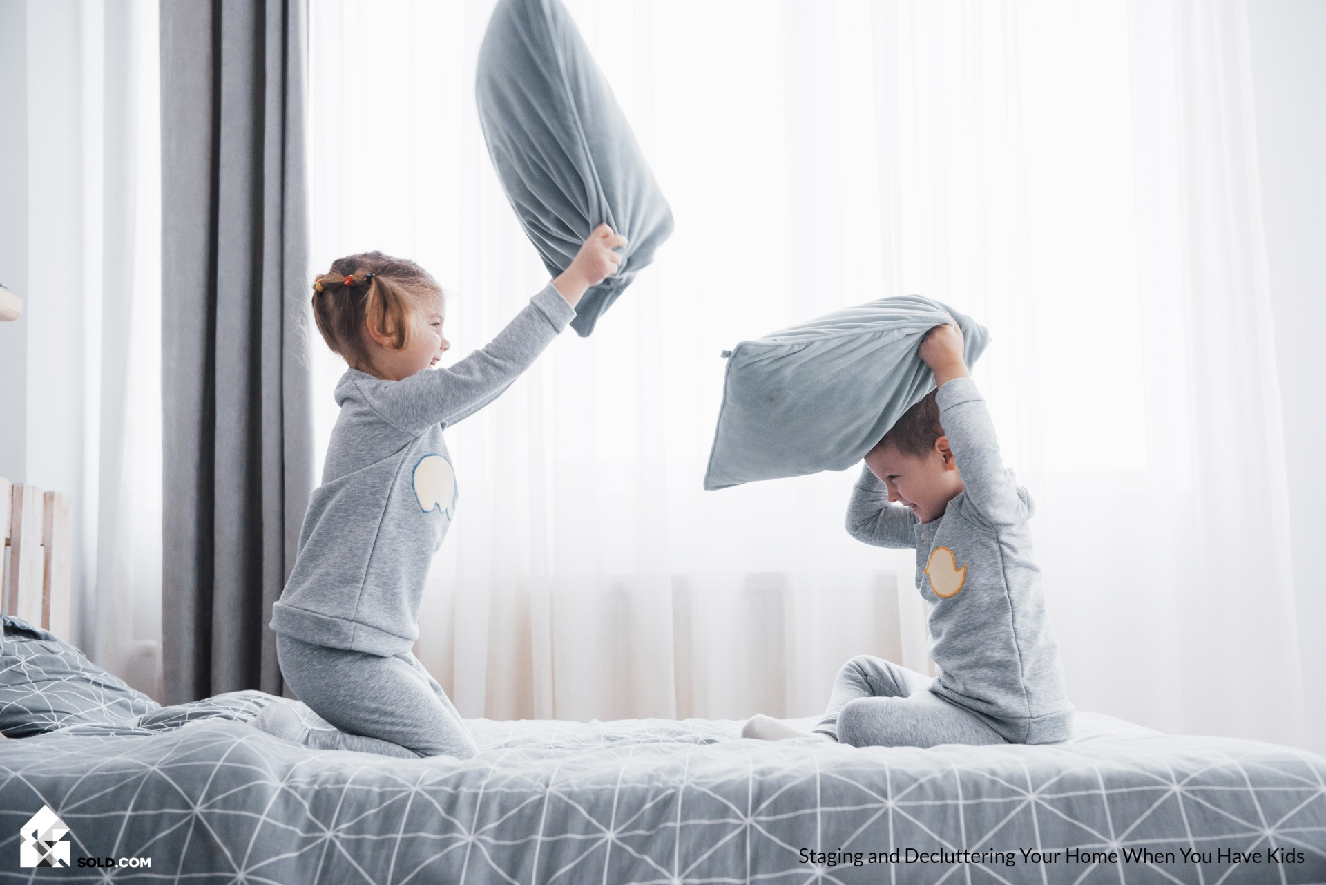 Staging and Decluttering Your Home When You Have Kids