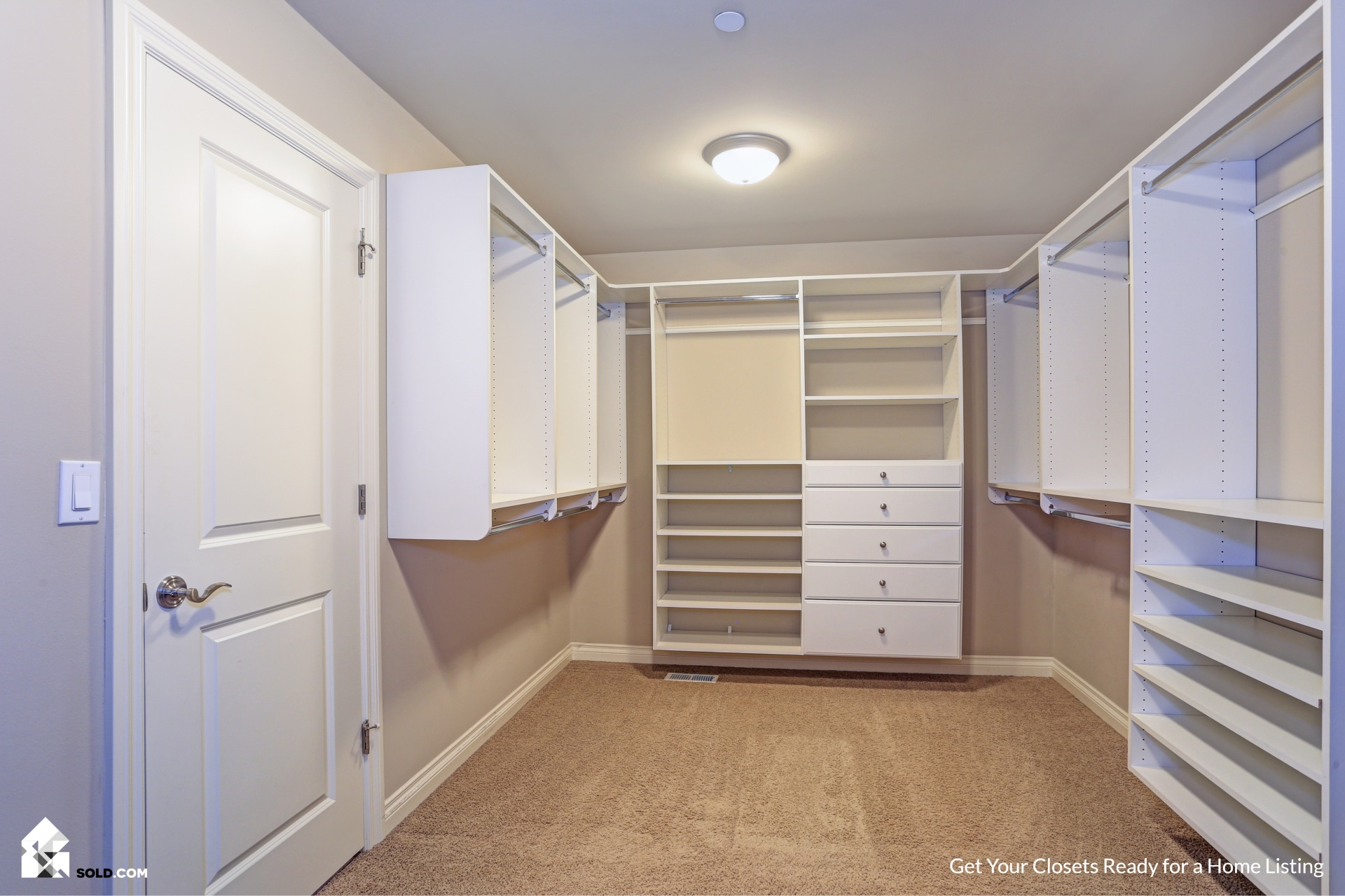 Get Your Closets Ready for a Home Listing
