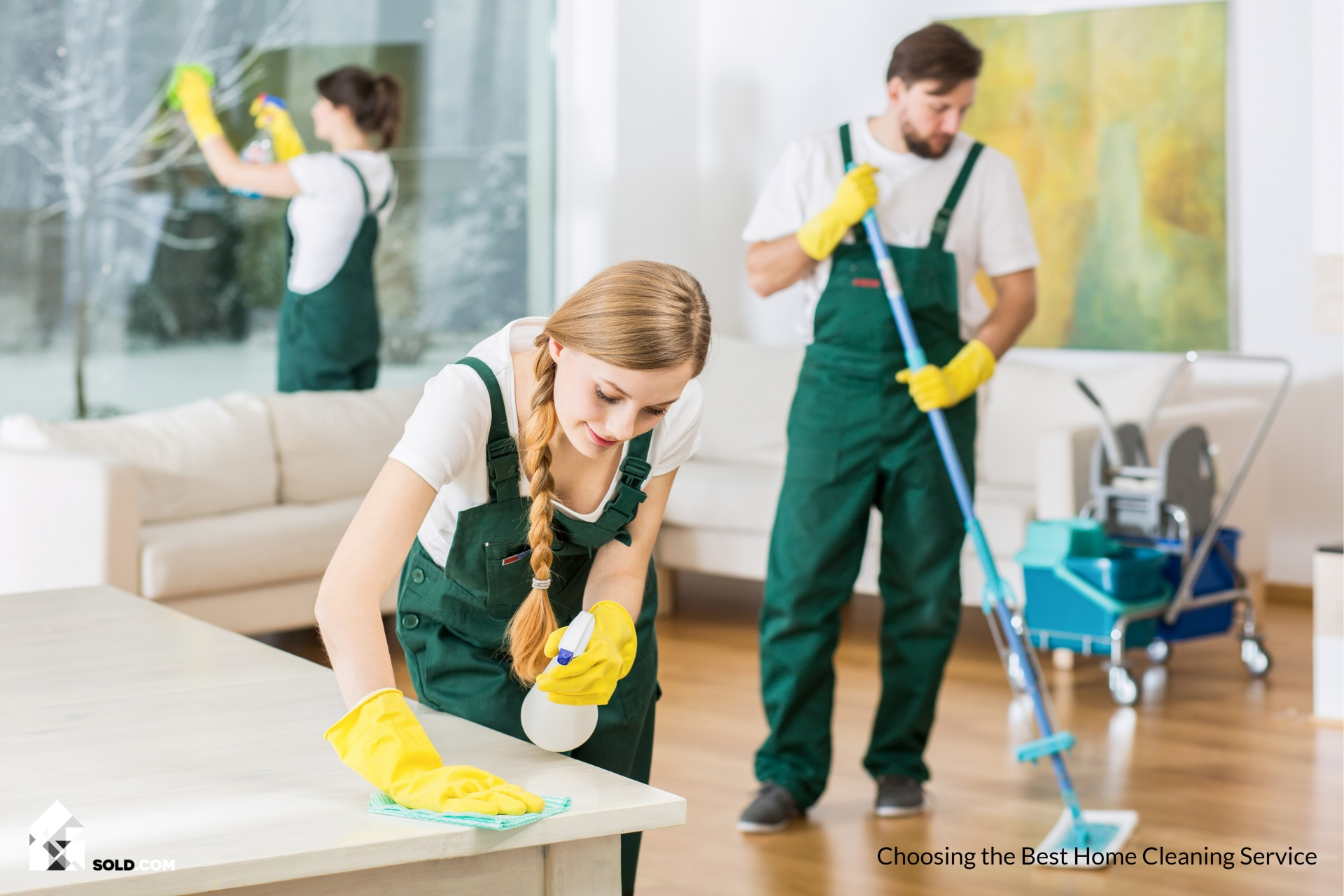 Choose the Best House Cleaning Service