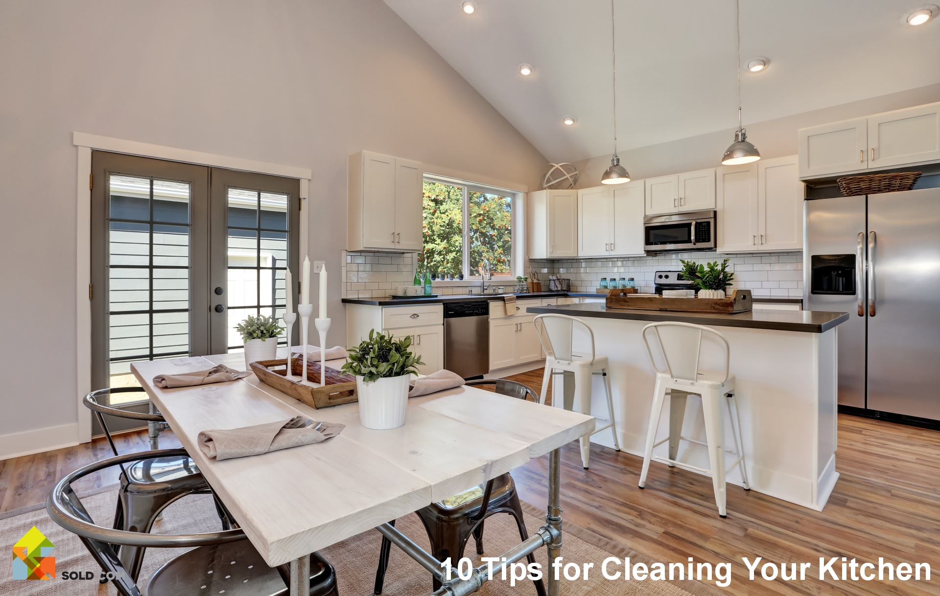 10 Tips for Cleaning Your Kitchen Before You Sell